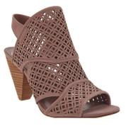 Vince Camuto Women's Ekanya Leather Ankle Strap Heel Sandal