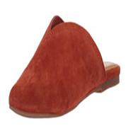 Splendid Women's Hanford Synthetic V-Cut Topline Slip-On Rubber Sole Flat Mule