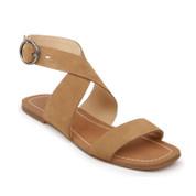 Splendid Women's Aaron Leather Peep-Toe Ankle Strap Buckle Closure Sandal