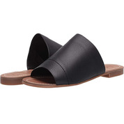 Splendid Women's Mavis Chic Slide Designed Single Wide Strap Rubber Sole Sandal