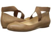 Jessica Simpson Women's MANDAYSS Ballet Flat CAFE
