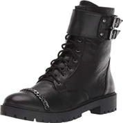 Jessica Simpson Women's Kadrey Leather Lace-Up Closure Fashion Boot
