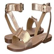 Splendid Women's Tabitha Leather Open Toe Ankle Strap Flat Sandal