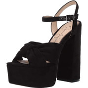 Jessica Simpson Alesta Women's Synthetic Ankle Strap Wrapped Heeled Sandal