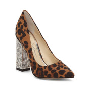 Jessica Simpson Women's Welles Synthetic Sole Ankle Strap Pointed-Toe Pump