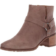 Lucky Brand Women's Lk-jansic Leather Memory foam Round Toe Ankle Boot