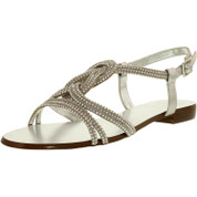 Vince Camuto Women's JALINA Leather Ankle-High Fabric Sandal