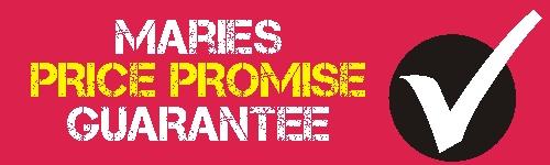 Maries Price Promise