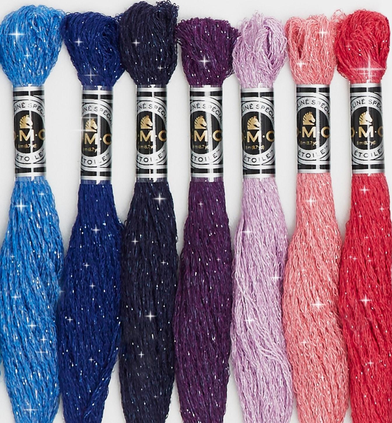 DMC Mouline Etoile Threads Art617