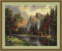 Mountain Picnic Petit Cross Stitch Kit By Luca S
