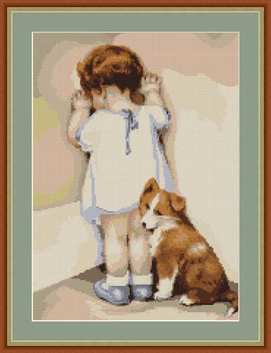 First Tantrum Petit Cross Stitch Kit By Luca S