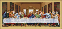 The Last Supper Petit Cross Stitch Kit By Luca S