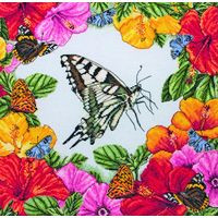 Spring Butterflies Cross Stitch Kit By Maia