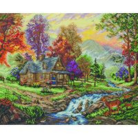 Mountain Retreat Cross Stitch Kit By Maia