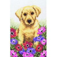 Puppy Cross Stitch Kit By Anchor