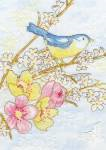 Dream Bird Cross Stitch Kit by Bothy Threads