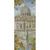St Peters Basilica Cross Stitch kit by Anchor