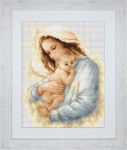 Mother and Baby Cross Stitch Kit by Luca-s