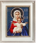 Leushinskaya Mother of God Cross Stitch Kit by Luca-S
