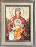 Mother of God Reigning Cross Stitch Kit by Luca-S