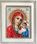 Mother of God of Kazan Cross Stitch Kit by Luca-S