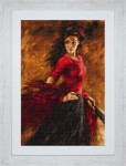 The Fan Dancer Petit Point Cross Stitch Kit by Luca-S