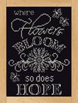 Bloom Chalkboard Cross Stitch Kit by Design Works