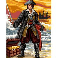 Pirate Tapestry Canvas By Royal Paris