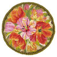 Tulips Cushion Cross Stitch Kit by Riolis