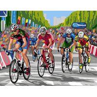 Bike Race Tapestry canvas By Royal Paris