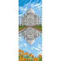 The Taj Mahal Tapestry Canvas By Royal Paris