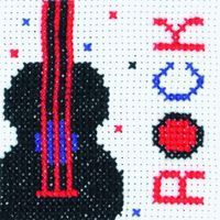 Rock Cross Stitch Kit by Anchor