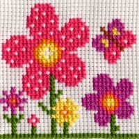 Sarah Cross Stitch Kit by Anchor