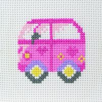 Camper Van Starter Cross Stitch Kit by Anchor