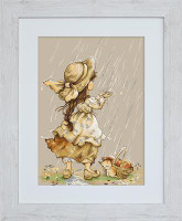 Summer Rain Cross Stitch Kit by Luca-S