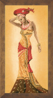 African Fashion II Cross Stitch Kit by Lanarte