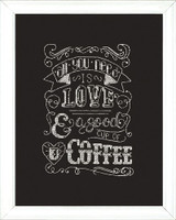 Love Chalkboard Cross Stitch Kit by Design Works