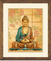 Budda Cross Stitch Kit by Lanarte