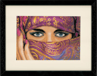 Veiled Women Cross Stitch Kit by Lanarte
