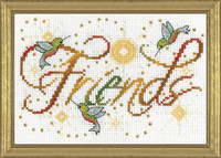 Friends Cross Stitch Kit By Design Works