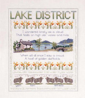 Lake District Sampler Cross Stitch Kit