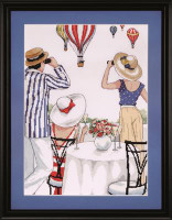 Balloon Soiree Cross Stitch Kit by Design Works
