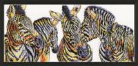 Wild things Zebras Cross Stitch Kit by Design Works