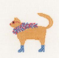 Rock Cats II Cross Stitch Kit by Lanarte