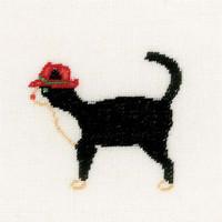Jazz Cats II Cross Stitch Kit by Lanarte