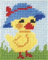 Mother Duck needle point kit by Orchidea