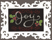 Joy Chalkboard Cross Stitch Kit by Design Works