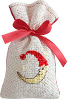 Moon Bag Cross Stitch Kit by Luca-S