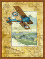 Above the Clouds Cross Stitch Kit by Riolis