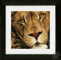 King of animals Cross Stitch Kit by Lanarte